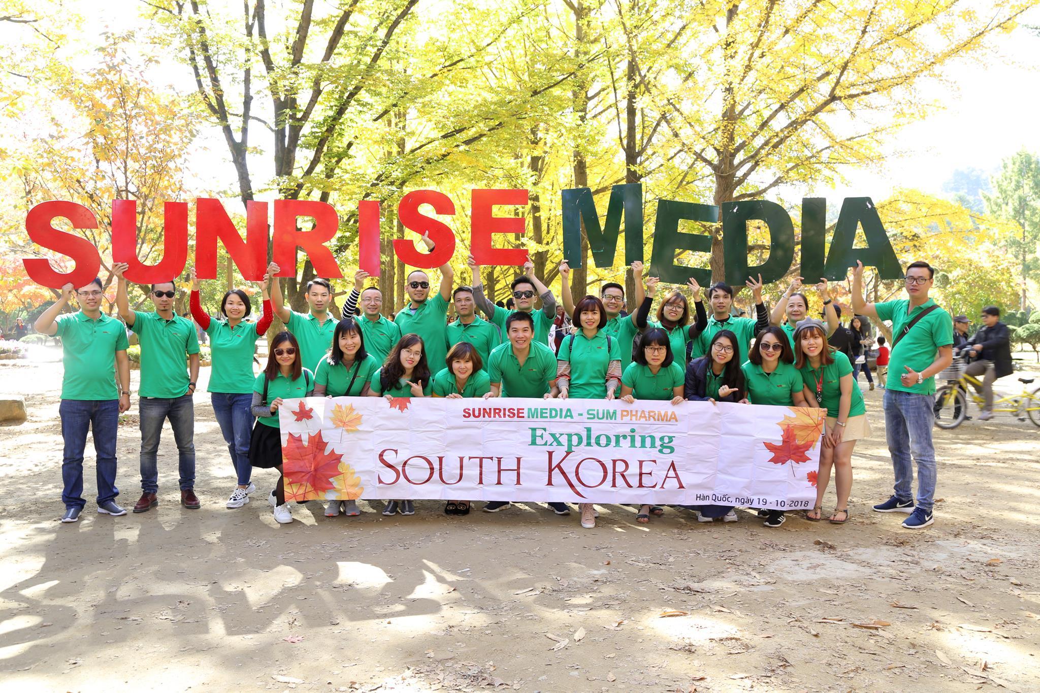 Du lịch Hàn Quốc 2018 – Chuyến đi nâng tầm hội nhập cho cán bộ nhân viên Sunrise Media